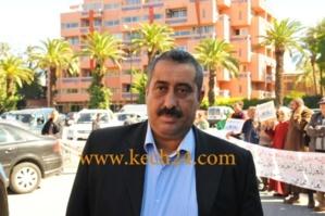 أمن مراكش يستمع لعبد الاله طاطوش رئيس الجمعية الوطنية للدفاع عن حقوق الإنسان بالمغرب بخصوص قضية سوق الدراجات
