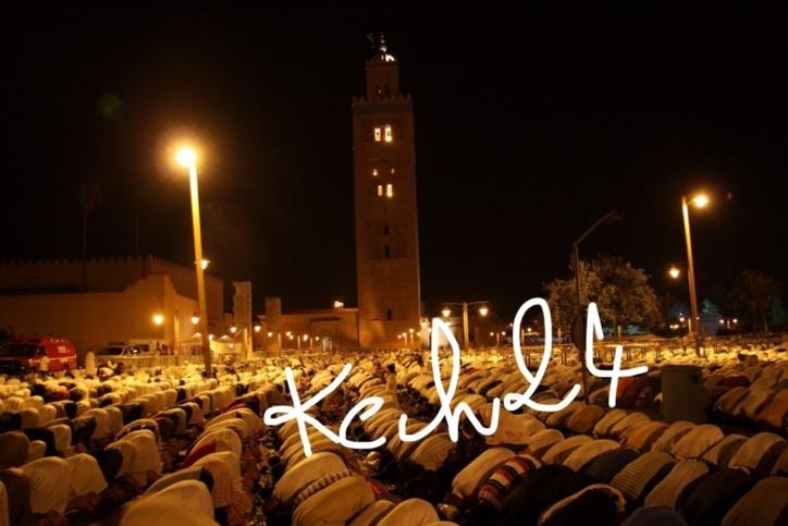 صلاة التراويح بمسجد الكتبية، وهذه اسباب إغلاق بعض مساجد المدينة العتيقة بمراكش