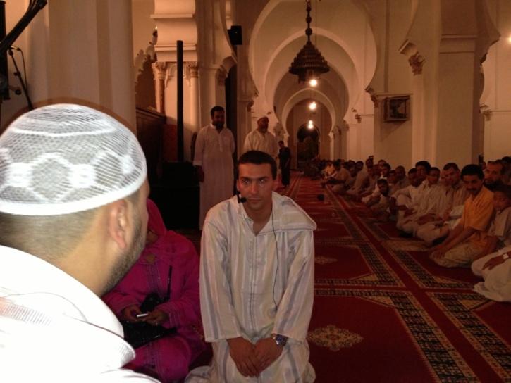 فرنسي يعلن إسلامه بمسجد الكتبية بمراكش