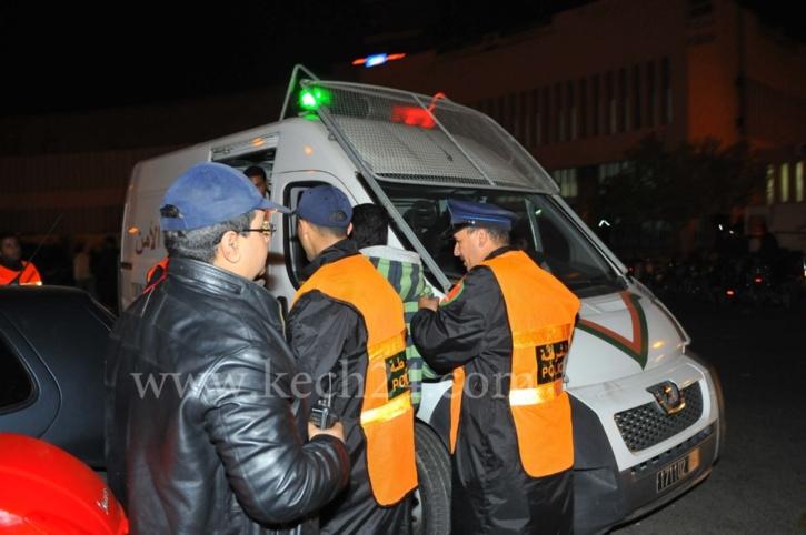 الأمن يداهم مقهى للشيشة بحي الداوديات