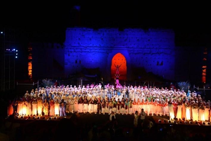 مراكش تستعد لاحتضان الدورة الـ48 للمهرجان الوطني للفنون الشعبية