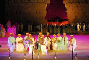 انطلاق فعاليات الدورة الـ48 للمهرجان الوطني للفنون الشعبية بمراكش