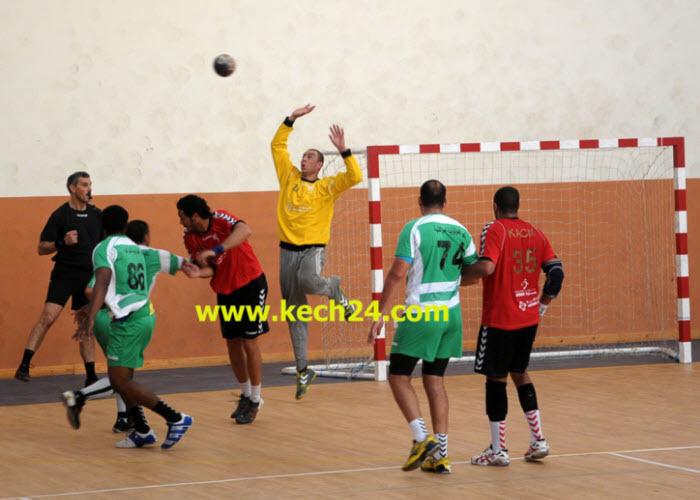 نادي مولودية مراكش لكرة اليد يدك شباك وداد السمارة ويقترب من احراز البطولة