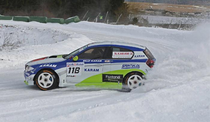 سابقة : مراكش تحتضن سباق السيارات على الجليد
