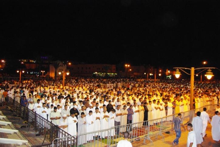 ليلة القدر تسجل ازيد من 55000 مصل خلال التهجد بمسجد الكتبية
