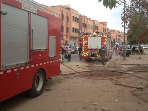 عاجل: إندلاع حريق بالمستوصف الصحي
