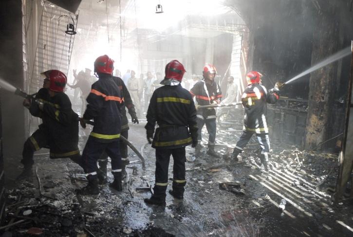 شاعلة فمراكش ... خمس حرائق في وقت واحد وحالة استنفار وسط القيادة الجهوية للوقاية المدنية + البوم الصور