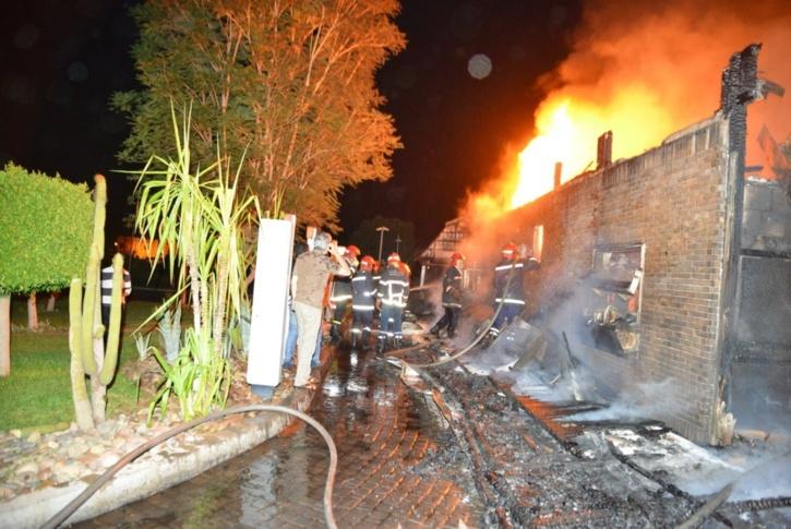 خبايا حريق ماكدونالدز مراكش تكشف عنها - كش24 + صور وڤيديو حصري