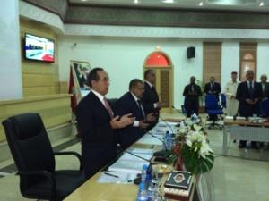 إطلاق اسم الراحل محمد المودن على قاعة المؤتمرات بعمالة قلعة السراغنة