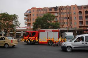 عاجل : اندلاع النيران بمطبعة بحي سيدي بوالدشيش بالمدينة العتيقة لمراكش