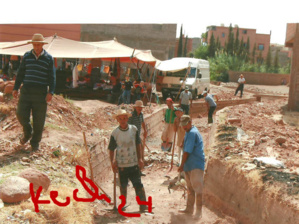 البناء العشوائي يستبيح قنوات السقي الفلاحي بآيت أورير ومزارعون يطالبون بتحريرها