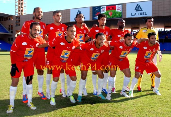 قمة الدورة 9 من الدوري الوطني لكرة القدم بين: المراكشي والمغرب التطواني رسميا 17 من نونبر 2013 بملعب الحارثي
