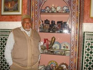 المراكشي الحاج مصطفى النگير الطباخ السابق للملك الراحل الحسن الثاني
