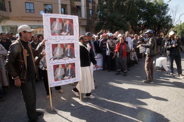 الجمعية الوطنية للدفاع عن لحقوق الانسان تضع ملف دار لحليب فوق مكتب الوكيل العام بمراكش