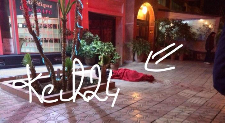 عاجل : انتحار اجنبي بمراكش + صورة حصرية
