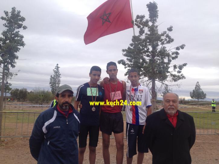فرع الجامعة الملكية المغربية للرياضة المدرسية ينظم البطولة الإقليمية للعدو الريفي بمراكش + صور التتويج