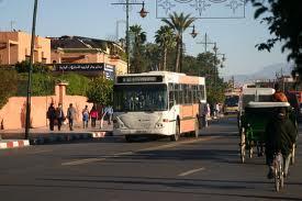 شركة ألزا تتسبب في شل حركة السير والجولان بالطريق الوطنية رقم 8 الربطة بين مراكش وقلعة السراغنة