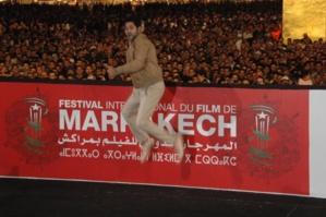 الدبوز يقفز ويرقص في جامع لفنا