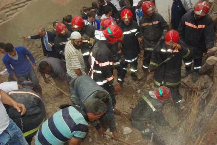 عاجل : إنهيار منزل بحي رياض الزيتون في مراكش