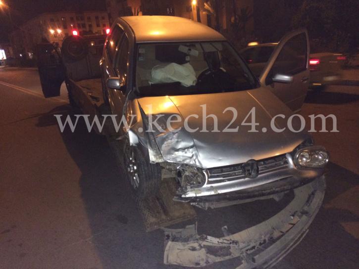 حادثة سير خطيرة بمراكش + صور حصرية