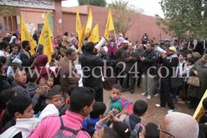 وقفة احتجاجية للتنديد باعتداء على مدرس بمؤسسة تعليمية بالسيبع يستنفر امن مراكش