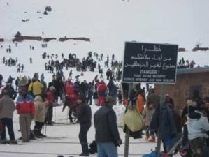 نادي الصحافة للتزحلق و الرياضات الجبلية بجهة مراكش يصدر بلاغا حول الرحلة الاستطلاعية الأولى إلى محطة أوكايمدن