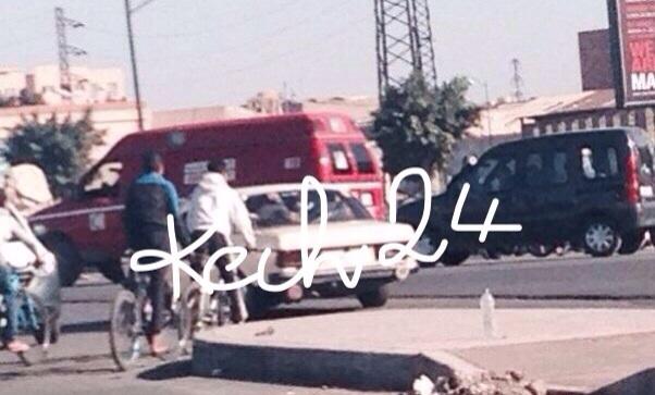 عاجل : مصرع فتاة وجرح اخرى بعدما دهستهما شاحنة بمراكش + صور حصرية