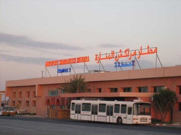 حجز حوالي 55 كلغ من مادة الشيرا بمطار مراكش المنارة