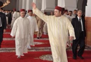 أمير المؤمنين يؤدي صلاة الجمعة بمسجد ابن البناء المراكشي بمدينة مراكش