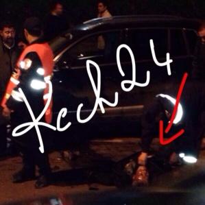 عاجل : حادثة سير خطيرة بطلتها شابة في مراكش صور وڤيديو حصري