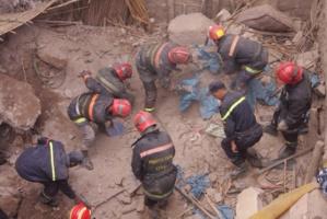 التساقطات تتسبب في انهيار حائط منزل بالمدينة العتيقة لمراكش