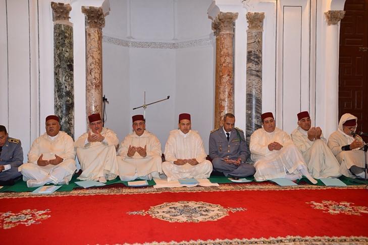 الوالي عبد السلام بيكرات يترأس حفلا دينيا بمناسبة الذكرى 15 لوفاة المغفور له الحسن الثاني