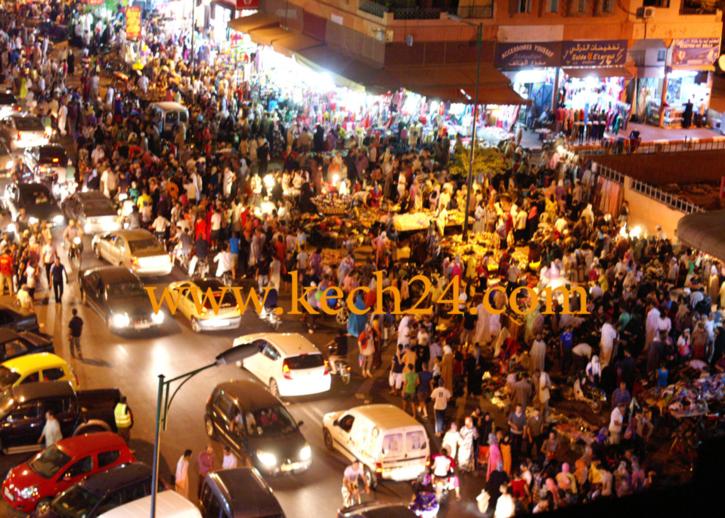شوهة: شارع الأحباس خلال الفترة الليلية + فيديو حصري