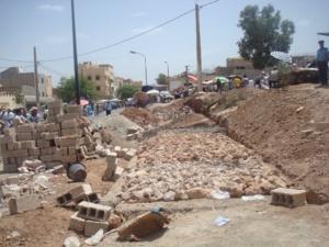 احتجاج بمراكش ضد الاختلالات والتلاعبات التي طالت المشاريع السكنية المخصصة لتعويض التجمعات العشوائية