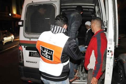 حصري: إعتقال أفراد عصابة من بينهم فتاتين إعتدوا على شخص قرب عين إيطي + صورة حصرية