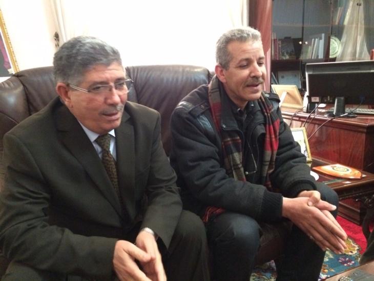 أحمد التويزي يستقبل أعضاء مكتب فرع النقابة الوطنية للصحافة المغربية بمراكش