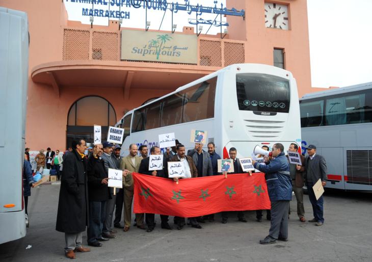 إضراب يشل حركة النقل بشركة سوبراتور بمراكش