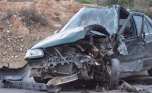 حادثة سير خطيرة نواحي ايت اورير تودي بحياة شخص وتسجل إصابة 8 اخرين