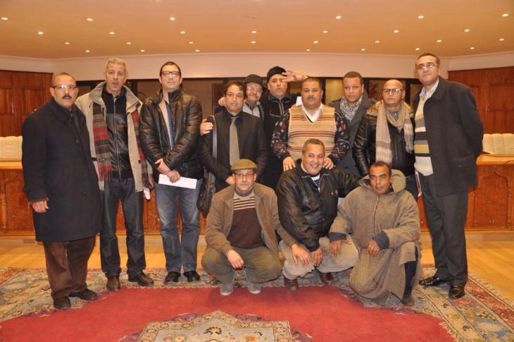 فرع النقابة الوطنية للصحافة المغربية بمراكش يصدر بيانا للرأي العام الوطني والمحلي