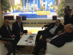 التويزي رئيس مجلس جهة مراكش تانسيفت الحوز يشارك في المعرض الدولي للسياحة ببرلين