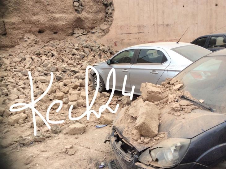 عاجل : انهيار جزء من السور التاريخي بحي باب دكالة دون وقوع ضحايا