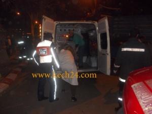 عاجل : شاحنة تحول جثة شاب الى أشلاء بعين إيطي بمراكش