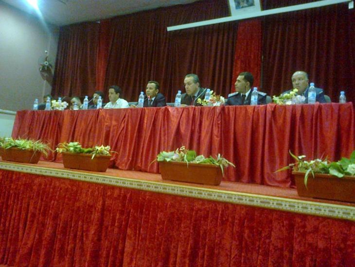 لقاء تواصلي بمراكش لشرح الاستراتيجية الأمنية لمحاربة الجريمة وتأمين سلامة المواطن