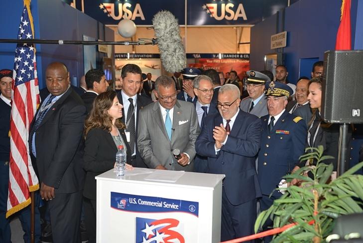 بنكيران يعطي انطلاقة فعاليات الدورة 4 للمعرض الدولي لصناعة الطيران