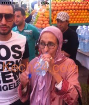 ها علاش جات الحاجة الحمداوية لمراكش + صورة حصرية