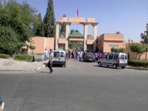 الهدوء يعود لفضاء الحي الجامعي بمراكش