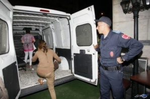 مفتشات الشرطة يقدن حملة ضد المومسات بحي جيليز بمراكش