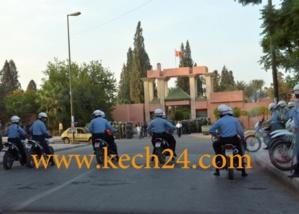 شرطة مراكش توقف 4 طلبة قاعديين متورطين في أحداث عنف داخل الحي الجامعي