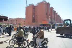عودة الباعة المتجولين الى احياء جيليز والسعادة تستنفر السلطات المحلية بمراكش
