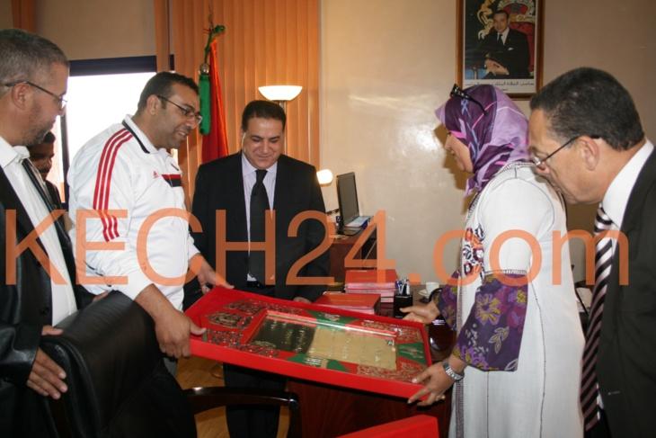 حصري : كِشـ24 تكشف ما دار بين والي الامن محمد الدخيسي وفعاليات المجتمع المدني بمراكش